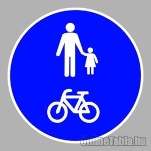 Kerékpárút tábla